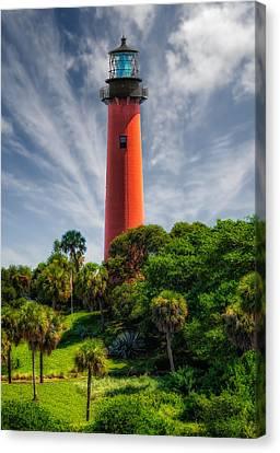Jupiter Inlet Lighthouse - 10 Canvas Print