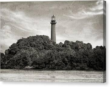 Jupiter Inlet Lighthouse - 3 Canvas Print