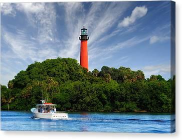 Jupiter Inlet Lighthouse - 4 Canvas Print