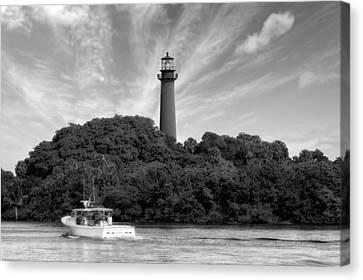Jupiter Inlet Lighthouse - 5 Canvas Print