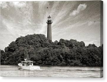 Jupiter Inlet Lighthouse - 6 Canvas Print