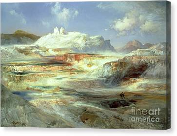 Jupiter Terrace Canvas Print by Thomas Moran