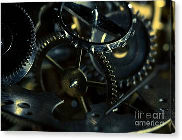 Just A Cog In The Machine 5 Canvas Print