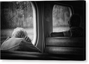 Just A Little Bit Tired Canvas Print by Vito Guarino