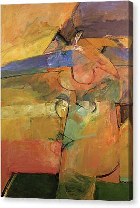 Canvas Print featuring the painting Just A Pose by Cliff Spohn