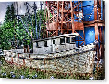 Just A Prop Canvas Print by Joetta West