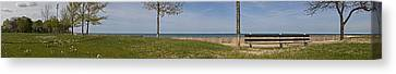Canvas Print featuring the photograph Just A Summer Day At The Park by Robert Harshman