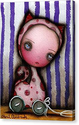 Just A Toy Canvas Print by  Abril Andrade Griffith