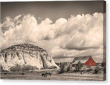 Just An Old Western Landscape Canvas Print by James BO  Insogna