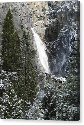 Canvas Print featuring the photograph Just Another Morning In Yosemite by Stan and Anne Foster