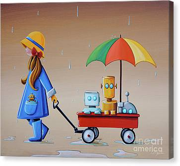 Just Another Rainy Day Canvas Print