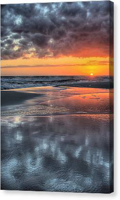Canvas Print featuring the photograph Just Another South Baldwin Sunset by JC Findley