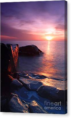 Just Another Superior Sunrise. Canvas Print