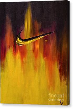 Just Do It Canvas Print by Herschel Fall