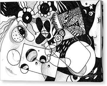 Just In Time Canvas Print by Helena Tiainen