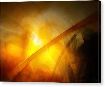 Canvas Print featuring the digital art Just Light by Gun Legler
