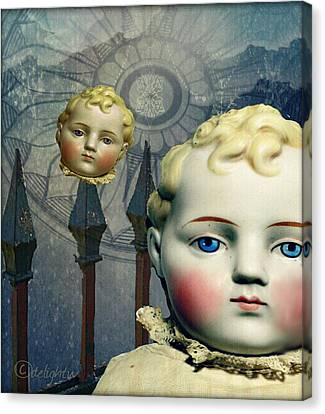 Just Like A Doll Canvas Print