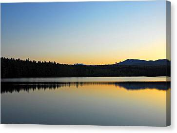 Just Off The Road Canvas Print
