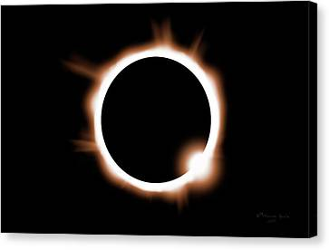 Solar Phenomena Canvas Print - Just One Opportunity by Marvin Spates