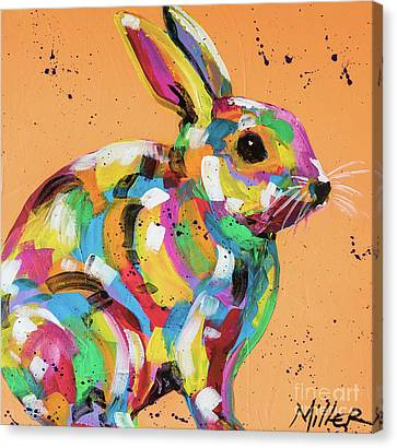 Just Peachy Canvas Print by Tracy Miller