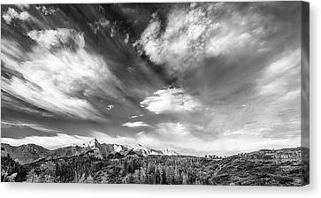 Just The Clouds Canvas Print