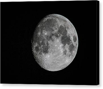 Just The Moon Canvas Print by Jean Noren