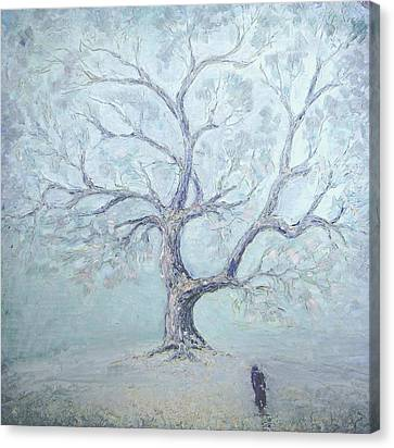 The Void Canvas Print - Just The Winter Has Come... 1987 by Ivan KRUTOYAROV