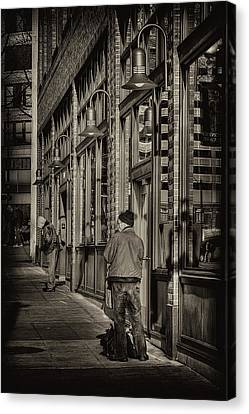 Just Waiting Canvas Print by David Patterson
