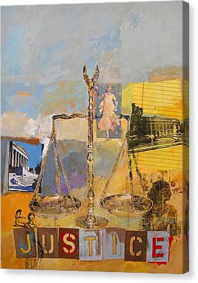 Justice Canvas Print by Cliff Spohn