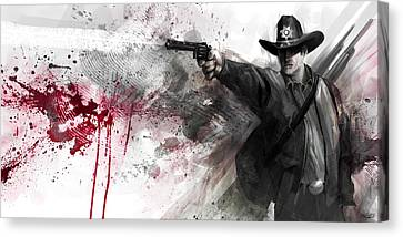 Justice Canvas Print by Steve Goad