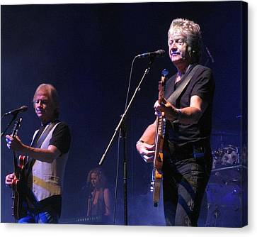 Justin And John Of The Moody Blues Canvas Print