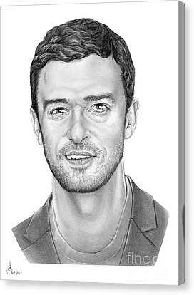 Justin Timberlake Canvas Print