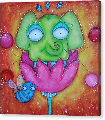 Canvas Print - Justinbeeberry And Trompycyrus by Barbara Orenya