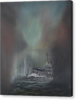 Jutland Canvas Print by Vincent Alexander Booth