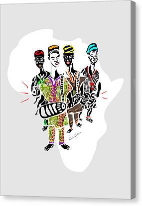 Kaakaaki Africa Canvas Print