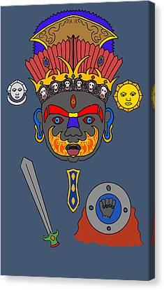 Kaal Bhairav Canvas Print