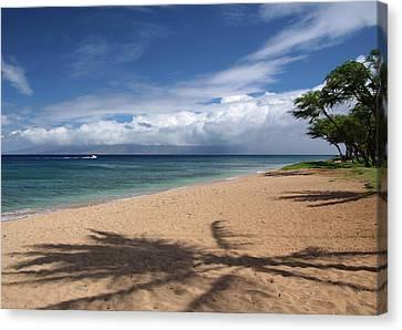 Canvas Print featuring the photograph Ka'anapali Beach - Maui by Rau Imaging