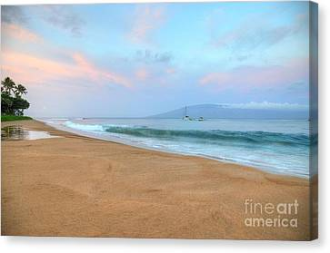 Canvas Print featuring the photograph Ka'anapali Delight  by Kelly Wade