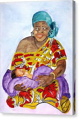 Kadidja  Canvas Print