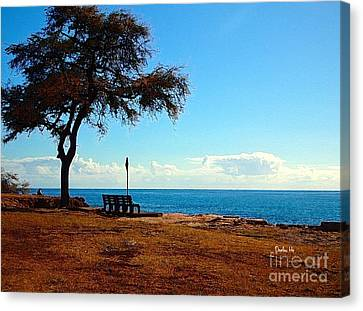 Kahe Point Beach Park Canvas Print