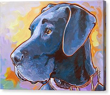 Kaia Canvas Print by Nadi Spencer