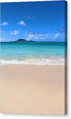 Kailua Beach Hawaii Canvas Print