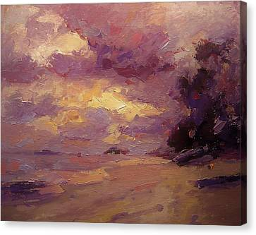 Kailua Sunrise Canvas Print by R W Goetting