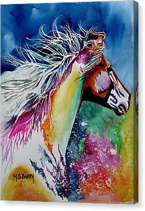 Kalaidascope Canvas Print by Maria Barry