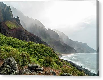 Kalalau Beach Canvas Print by Brian Harig