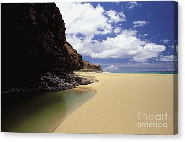 Kalalau Beach, Empty Canvas Print by Peter French - Printscapes