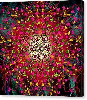 Kaleidoflower#7 Canvas Print
