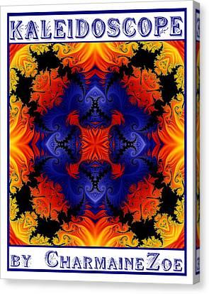 Kaleidoscope 1 Canvas Print by Charmaine Zoe