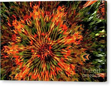 Kaleidoscope 1 Canvas Print by Jean Bernard Roussilhe