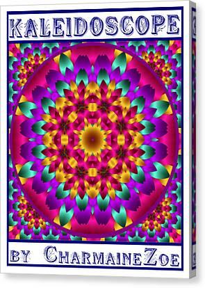 Kaleidoscope 3 Canvas Print by Charmaine Zoe